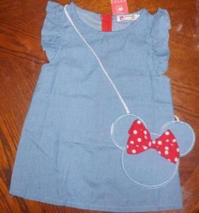 Новое платье, размер 80-86