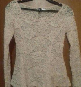 Блузка кружевная HsM