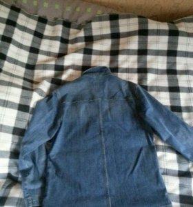Джинсовая куртка 48 размера