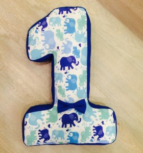 Цифра 1 для дня рождения