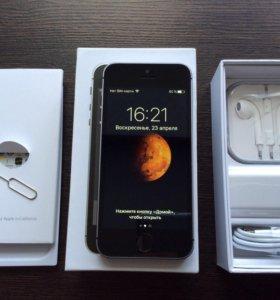 iPhone 5s, с отпечатком, полный комплект