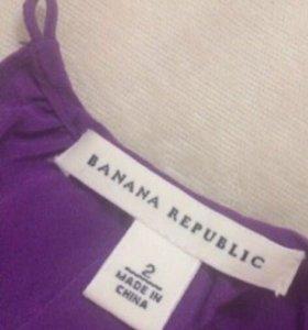 Топ Banana Republic 100% шёлк