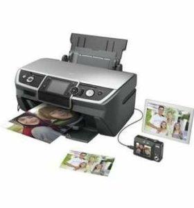 Принтер Epson R340 с СНПЧ
