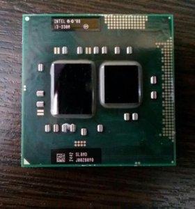 Процессор ноутбука Intel Core i3 330M 2130 МГц
