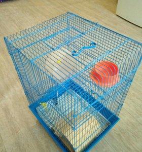 Клетка двухэтажная (для грызунов)