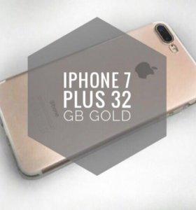 ✅IPhone 7 Plus 32GB Gold
