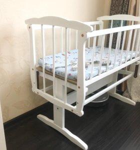Детская кроватка люлька