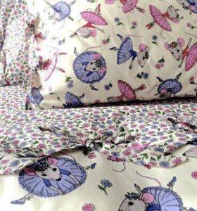 Комплект постельного белья на 1,5 кровать