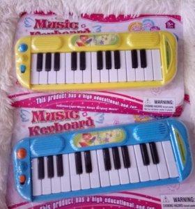 Музыкальное пианино новое