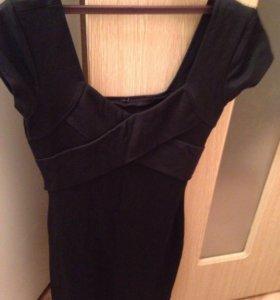 Чёрное платье 42-44