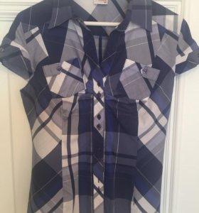 Женская блузка-рубашка