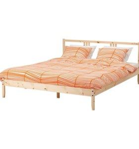 Новая кровать из массива сосны 120*200