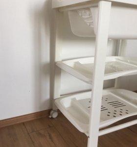 Пеленальный столик и ванночка pali