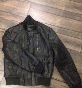 Мужская куртка кожаная OGER