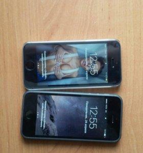 2 шт iPhone 5s 16gb