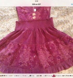 Продам вельветовое платье