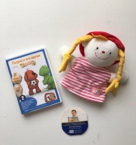 Новая Кукла-рукавичка Джулия +DVD диск с 6 сериями