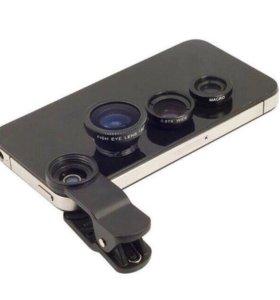 Макрокамеры для мобильного телефона 3 в 1