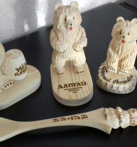 Сувениры (кедр) медведь