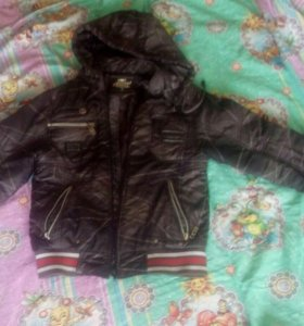 Куртка на мальчика 7 8 лет