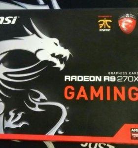 MSI Radeon R9 270x 4gb gaming