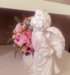 Букет с ангелом