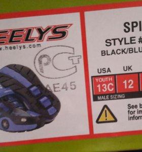 Роликовые-кроссовочки Heelys