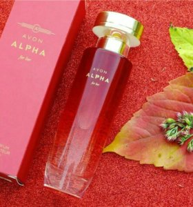Парфюмерия вода Avon Alpha