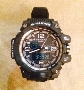 Стильные часы g-shock