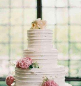 Торт на свадьбу. Свадебный торт