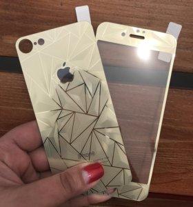 Защитные стекла на iPhone 7
