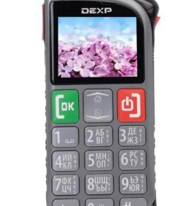 Сотовый телефон DEXP Larus S7 1.8 Gray