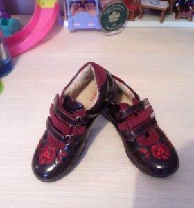 Туфли , полуботинки на девочку