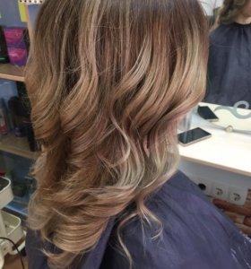 Покраски волос