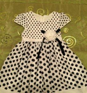 Нарядное платье для девочки 2-4 лет