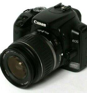 Фотоаппарат Canon 400d