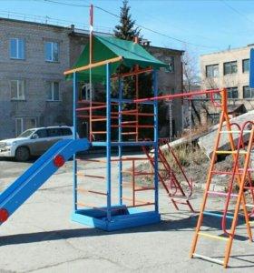 Уличный Детский Спортивный Комплекс ДСК Замок-А