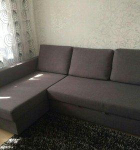 Диван-кровать из IKEA фриххэтен