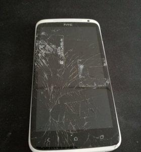 HTC One X - 16 Gb - дисплей разбит