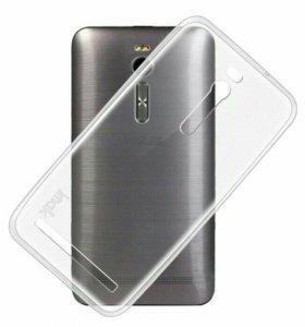 Силиконовый чехол, бампер asus zenfone 2 (ZE551ML)