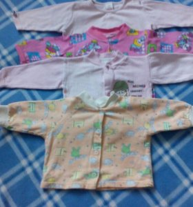 Рубашки на малышку