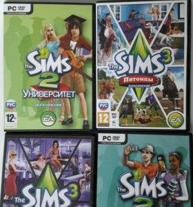 Компьютерные игры Sims 2. Sims 3