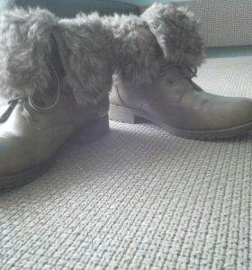 Зимние ботинки(41р-р)