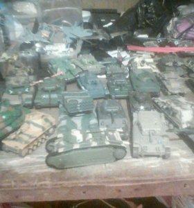 Коллекция танков самолётов