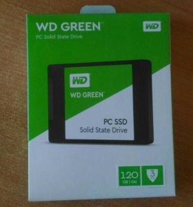 Новый SSD 12OGb