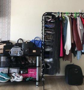 одежда, обувь, сумки, носки, палантины