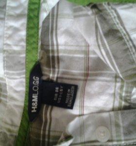 рубашка б/у н&м