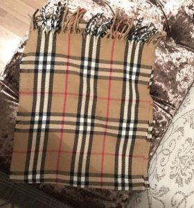 Новый кашемировый шарф Burberry оригинал