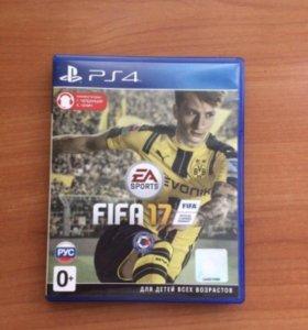 Продам игру FIFA 17 для ps4