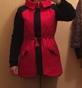Куртка демисезонная утеплённая